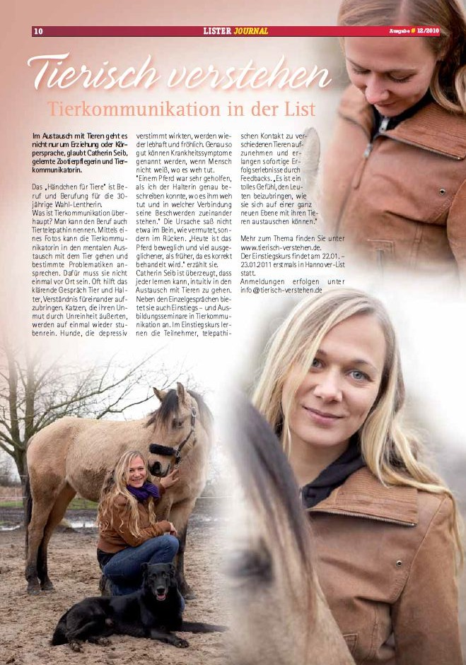 tierkommunikation medien lister journal 13